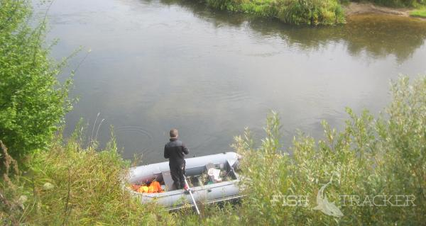 Сплав по реке Соть