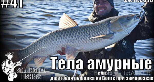 Видоотчёт о рыбалке на Волге 24.11.2016