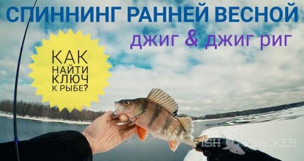 Спиннинг ранней весной. Как подобрать ключ к рыбе? Джиг & Джиг риг.