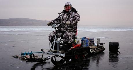 Первый лед на Саратовском