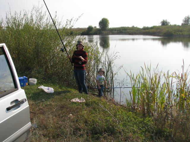 Рыболовный отчет Ravil Saitgaliev Семейный выезд на рыбалку