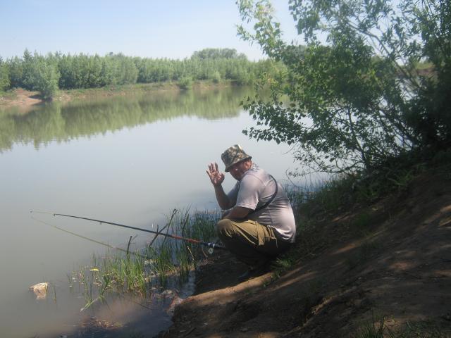Рыболовный отчет Ravil Saitgaliev Весення рыбалка в Оребургской областина карьере