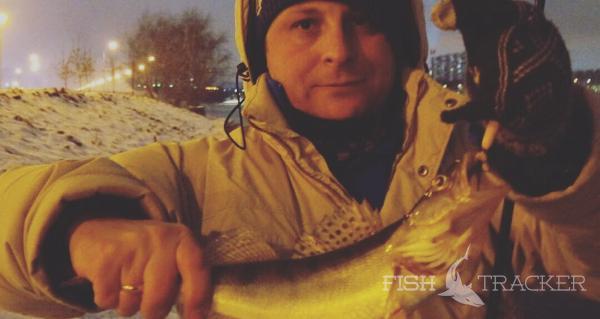 Отчет о рыбалке 13.01