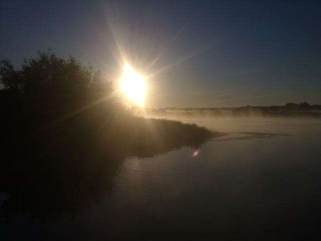 Рыболовный отчет Владимир  Савельев Красоты утренней рыбалки