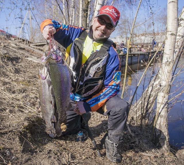 Рыболовный отчет Сергей Гоман Пасхальный бонус