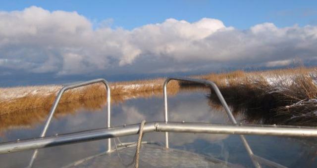 Встреча старого нового года . Кругом снег , а вода жидкая. Красота!!! Без слов ,в картинках !.........