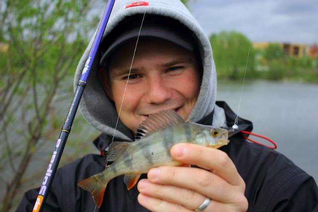 Рыболовный отчет Денис Вихров Пару вечерних часов на домашнем пруду