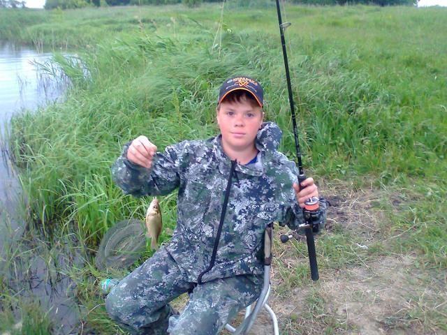 Рыболовный отчет Саша Стюхин Вечерняя рыбалка