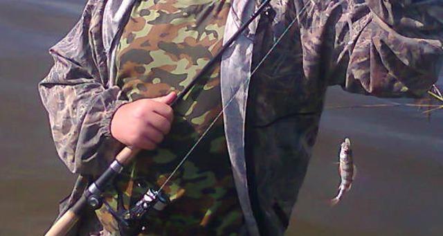 Рыбалка на отводной поводок