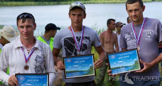 Областной турнир по спиннингу с берега