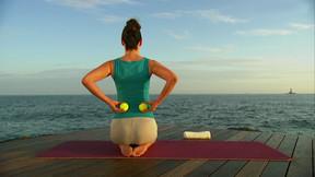 Pilates für den Rücken - Tennisball-Massage