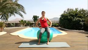 Fitness für Schwangere - Komplettkurs (mit Ball)