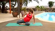 Fitness für Schwangere - Stretching