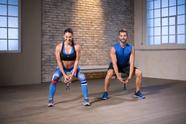 Kurzhantel + Cardio - Beine, Po, Core, Schultern