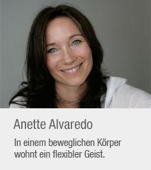 Trainerin: Anette Alvaredo