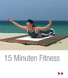 Trainingsziel: 15 Minuten Fitness