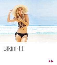 Trainingsziel: Bikini-fit