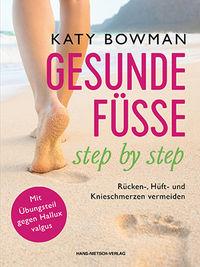 Bild: Buchcover - Gesunde Füße Step by Step