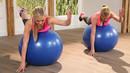 Gymnastikball-Workout - Bauch intensiv