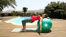 Fitness für Schwangere - Rücken & Beine (mit Ball)