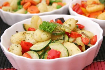 Gnocchi-Zucchini-Pfanne