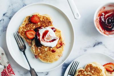 Süße Pfannkuchen (vgn)