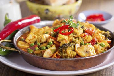 Reis mit Tofu & Gemüse (vgn)