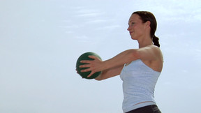 Pilates mit Ball - Warm-up