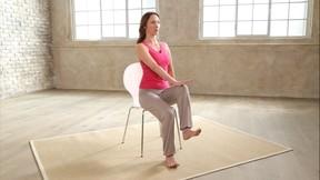 Beckenboden Training - mit Stuhl