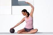 Pilates mit Ball - Entspannung