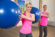 Gymnastikball-Workout - Bauch intensiv