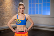 Core-Workout mit Steffi