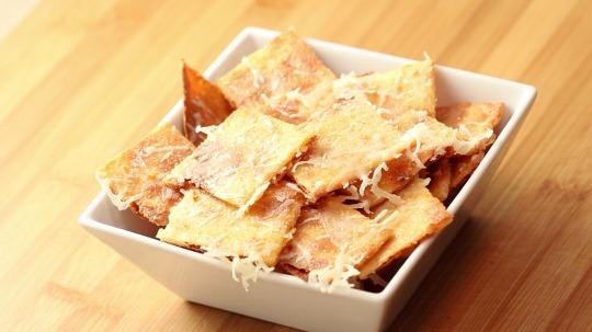 Rezept: Mozzarella Cracker