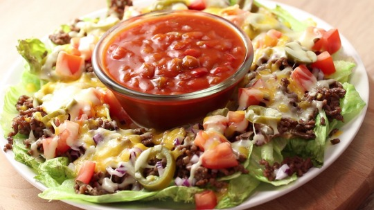 Rezept: Low Carb Nacho Salat