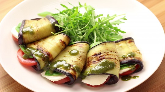 Recipe: Low Carb Eggplant snack