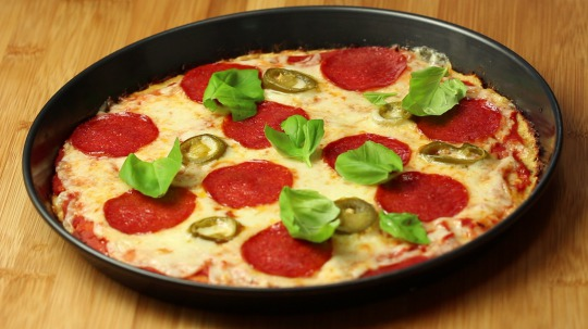 Rezept: Low Carb  Blumenkohl Pizza
