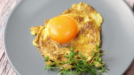 Rezept: Low Carb Fried egg with curry