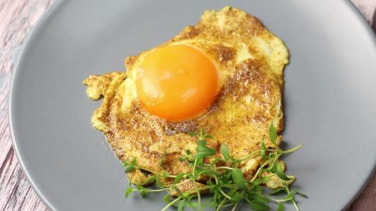 Rezept: Low Carb Spiegelei mit Curry