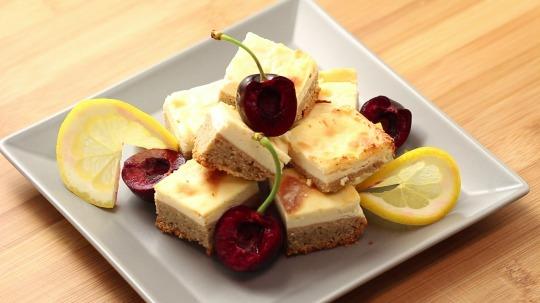 Rezept: Low Carb  Zitronen-Käsekuchen