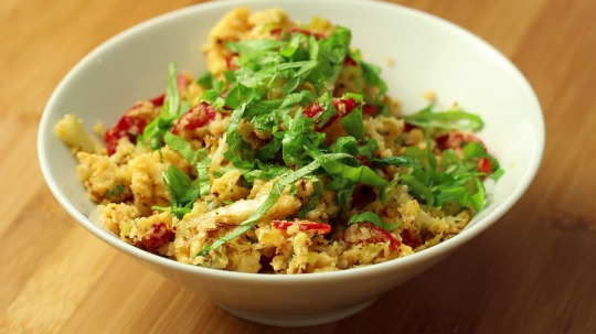Rezept: Asian style cauliflower rice