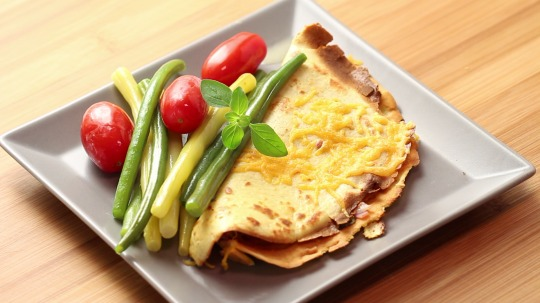 Rezept: Ham and cheese crepes