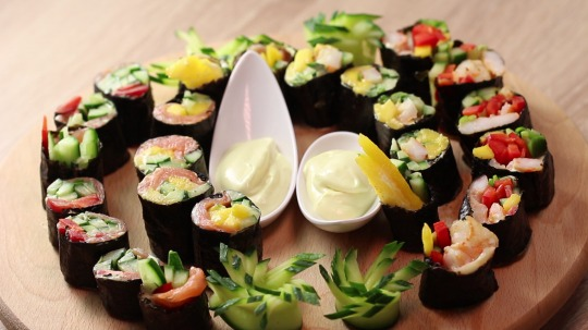 Rezept: Low-Carb Sushi (no rice)