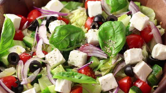 Rezept: Low Carb Greek Salad