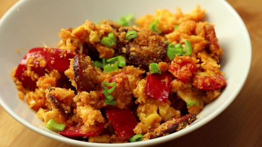Rezept: Cauliflower rice with chorizo