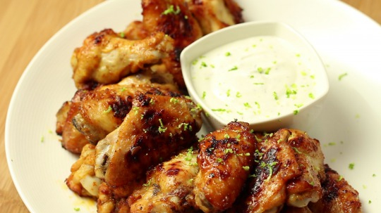 Recipe: Low Carb Lime chicken wings