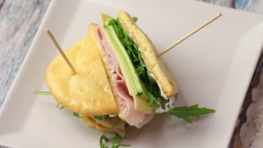 Rezept: Low Carb Oopsies Sandwich
