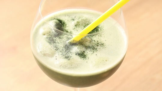 Recipe: Low Carb Vanilla-matcha-ice-drink