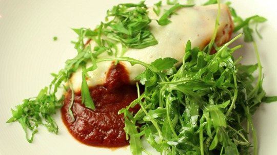 Rezept: Chicken Breast with Tomato Sauce and Mozzarella