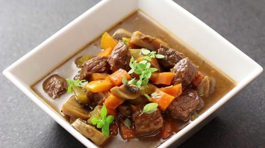 Rezept: Low Carb beef goulash