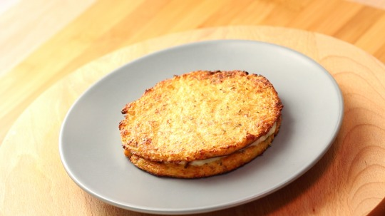 Rezept: Low Carb Blumenkohl-Käse-Toast